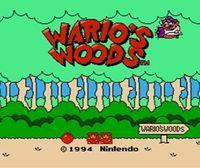 Portada oficial de Wario's Woods CV para Nintendo 3DS