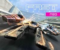 Portada oficial de FAST Racing Neo eShop para Wii U