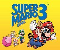 Portada oficial de Super Mario Bros. 3 CV para Nintendo 3DS