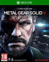 Portada oficial de Metal Gear Solid V: Ground Zeroes para Xbox One