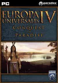 Portada oficial de Europa Universalis IV: Conquest of Paradise para PC