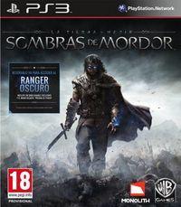 Portada oficial de La Tierra Media: Sombras de Mordor para PS3