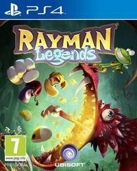 Portada oficial de Rayman Legends para PS4