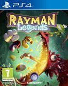 Portada oficial de de Rayman Legends para PS4