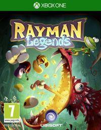 Portada oficial de Rayman Legends para Xbox One