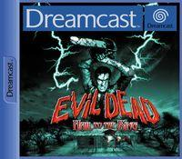 Portada oficial de Evil Dead: Hail to the King para Dreamcast