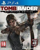 Portada oficial de de Tomb Raider: Definitive Edition para PS4