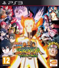 Portada oficial de Naruto Shippuden: Ultimate Ninja Storm Revolution para PS3