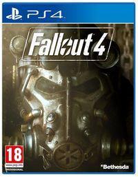 Portada oficial de Fallout 4 para PS4