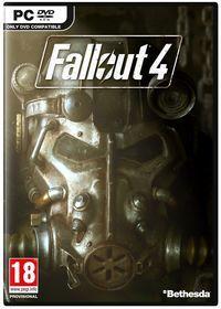 Portada oficial de Fallout 4 para PC