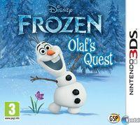 Portada oficial de Disney Frozen: Olaf's Quest eShop para Nintendo 3DS