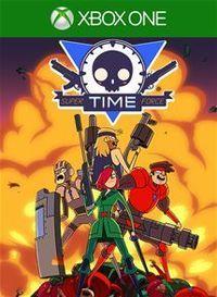 Portada oficial de Super Time Force para Xbox One