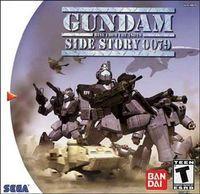 Portada oficial de Gundam Side Story: 0079 para Dreamcast