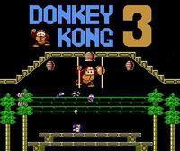 Portada oficial de Donkey Kong 3 CV para Nintendo 3DS