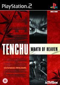 Portada oficial de Tenchu 3: La Ira del Cielo para PS2