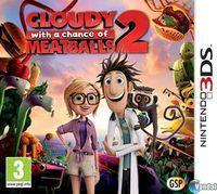 Portada oficial de Cloudy With a Chance of Meatballs 2 para Nintendo 3DS