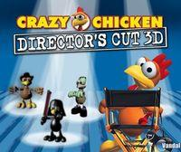 Portada oficial de Crazy Chicken: Director's Cut 3D eShop para Nintendo 3DS