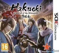 Portada oficial de Hakuoki: Memories of the Shinsengumi eShop para Nintendo 3DS
