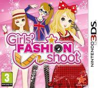 Portada oficial de Girls' Fashion Shoot eShop para Nintendo 3DS