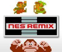 Portada oficial de NES Remix eShop para Wii U