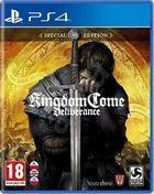 Portada oficial de de Kingdom Come: Deliverance para PS4