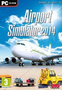 Portada oficial de Airport Simulator 2014 para PC