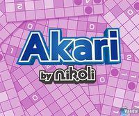 Portada oficial de Akari by Nikoli eShop para Nintendo 3DS