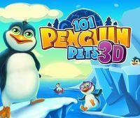 Portada oficial de 101 Penguin Pets 3D eShop para Nintendo 3DS