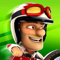 Portada oficial de Joe Danger Infinity para iPhone