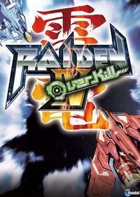 Portada oficial de Raiden IV: Overkill PSN para PS3