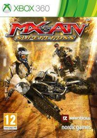 Portada oficial de MX vs. ATV Supercross para Xbox 360