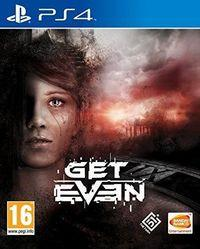 Portada oficial de Get Even para PS4