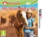 Portada oficial de de My Western Horse 3D para Nintendo 3DS