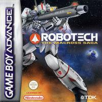 Portada oficial de Robotech: The Macross Saga para Game Boy Advance