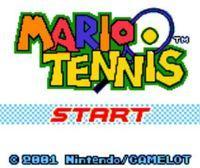 Portada oficial de Mario Tennis CV para Nintendo 3DS