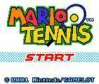 Portada oficial de de Mario Tennis CV para Nintendo 3DS