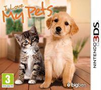 Portada oficial de I Love My Pets para Nintendo 3DS