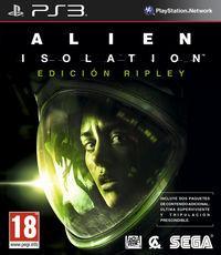 Portada oficial de Alien: Isolation para PS3