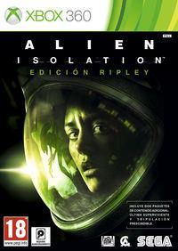 Portada oficial de Alien: Isolation para Xbox 360