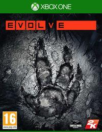 Portada oficial de Evolve para Xbox One