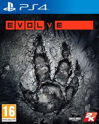 Portada oficial de Evolve para PS4