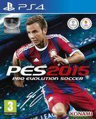 Portada oficial de de Pro Evolution Soccer 2015 para PS4