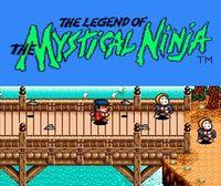 Portada oficial de The Legend of the Mystical Ninja CV para Wii U