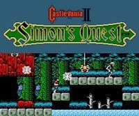 Portada oficial de Castlevania II: Simon's Quest CV para Nintendo 3DS