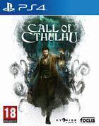 Portada oficial de de Call of Cthulhu para PS4