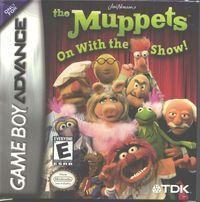Portada oficial de Muppets On With The Show para Game Boy Advance