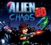 Portada oficial de Alien Chaos 3D eShop para Nintendo 3DS