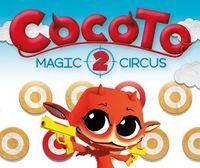 Portada oficial de Cocoto Magic Circus 2 eShop para Wii U