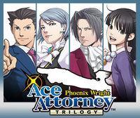 Portada oficial de Ace Attorney: Phoenix Wright Trilogy eShop para Nintendo 3DS
