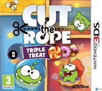 Portada oficial de Cut the Rope: Pack 3 juegos para Nintendo 3DS
